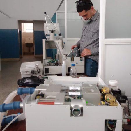 Tecnología aplicada en Equipos de Ventilación Mecánica y Máquinas de Anestesia